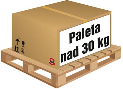 Paleta nad 30 kg